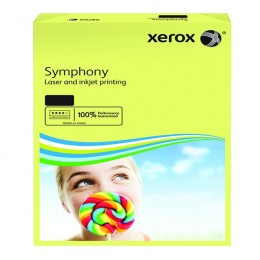 Xerox Symphony Paper A4 80g Pastel Yellow [Pack of 500]