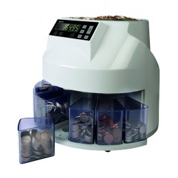 YCR Coin Sorter And Counter Grey