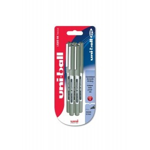 Uni-Ball Eye UB 157 Fine Rollerball Pen Black [Pack of 5]