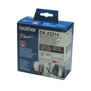 Brother DK22214 Continuous Paper Tapes