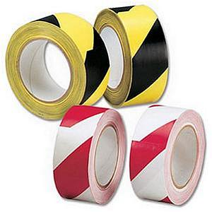 OfficePad Lane Marking Tape 50mmx33m Red and White