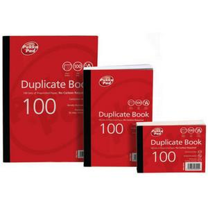 Value Duplicate Book Feint Ruled 105x130mm [Pack of 5]