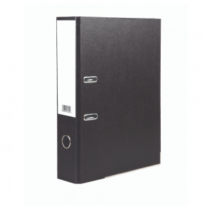 Value Lever Arch File A4 Black