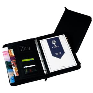 Collins Conference Ring Binder with Calculator Zipped