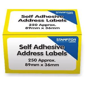 OfficePad Address Labels 89x36mm [Roll of 250 Labels]