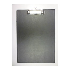 Value PVC A4 Clipboard Black