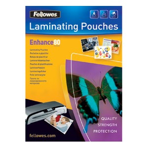 Fellowes 53964 A3 80 micron Pouch [Pack of 25]