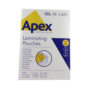 Fellowes Apex 6001901 A3 Pouch 100