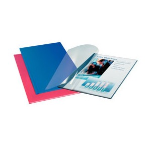 Leitz Softcover Linen Finish 3.5mm Cover Boards Blue [Pack of 10]