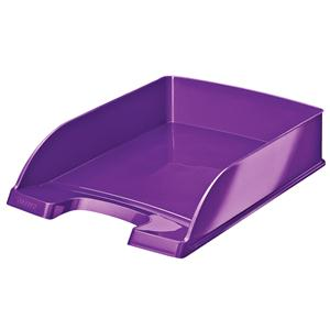Leitz WOW Letter Tray Metallic Purple
