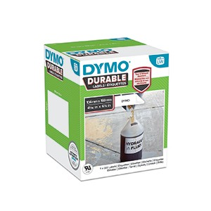 Dymo 1933086 LW Durable Extra Large Shipping label 104mm x 159mm Black on White