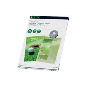 Leitz 74790000 A4 UDT iLAM 80 Micron Pouch [Pack of 25]