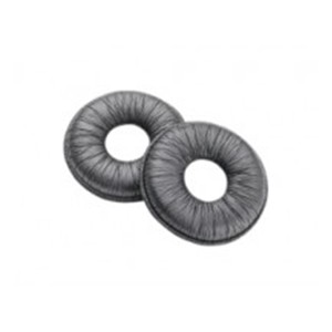 Poly 71782-01 Leatherette Ear-Cushions Pack of 2