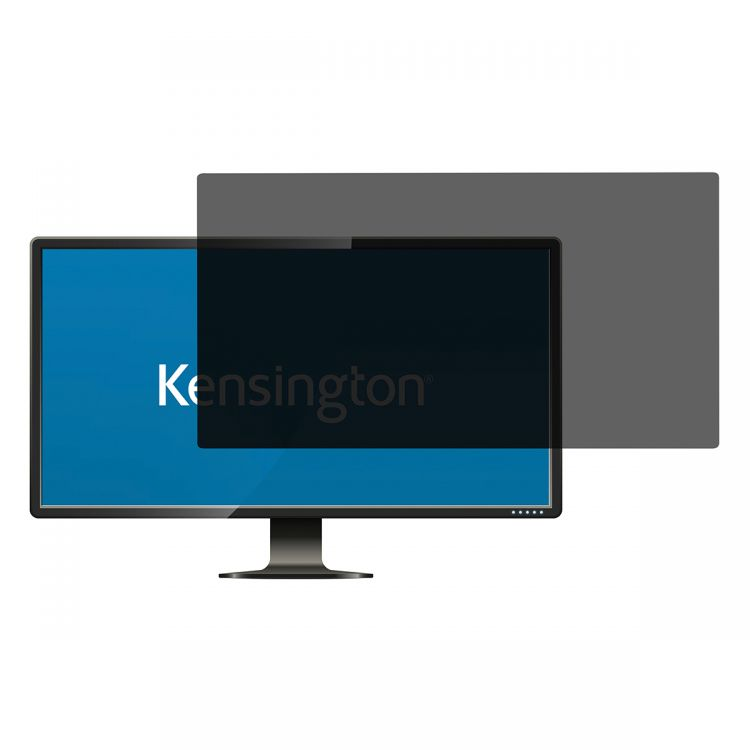 Kensington 626488 Privacy Filter 2 Way Removable 24 inch Widescreen 16:10