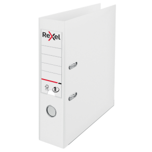Rexel Choices A4 Polypropylene Lever Arch File White [Pack of 10]