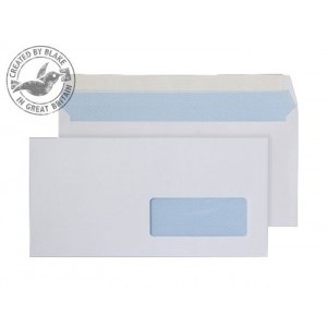 Blake Purely Everyday DL Window Envelopes Peel and Seal 100g White [Pack of 500]