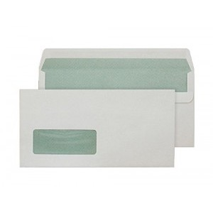 Blake Purely Environmental DL Window Self Seal Envelopes Natural White 90g [Pack of 500]