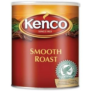 Kenco Smooth Instant Coffee in Resealable Tin 750g [Pack of 6]
