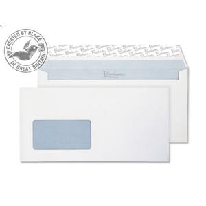 Blake Premium Business DL Window Peel and Seal Envelopes White [Pack of 500]