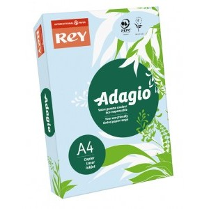 Rey Adagio A4 Paper Blue [Pack of 500]