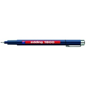 Edding 1800 Profipen 0.5mm Black [Pack of 10]
