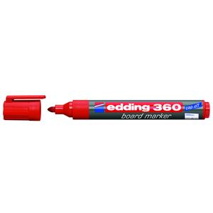 Edding 360 Board Marker Red [Pack of 10]