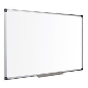 Bi-Office Maya Magnetic Dry Wipe Aluminium Frame Whiteboard 2400x1200mm
