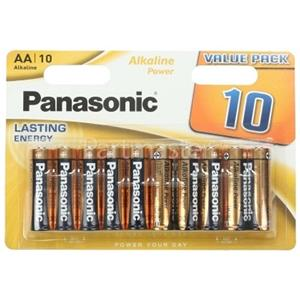 Panasonic AA Bronze Power Batteries [Pack of 10]