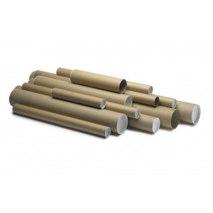 Postal Tube 1125x100mm Brown [Pack of 5]