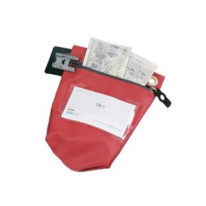Versapak Secure Cash Bag Small Red