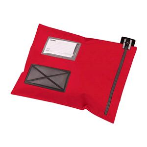 Versapak Mail Lightweight Security Pouch 470x360mm Red