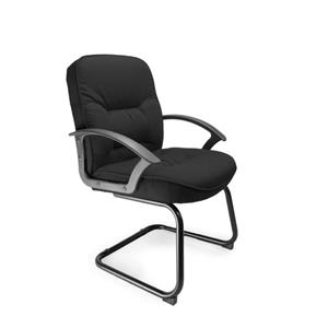 Coniston C Cantilever Framed Visitors Chair Black