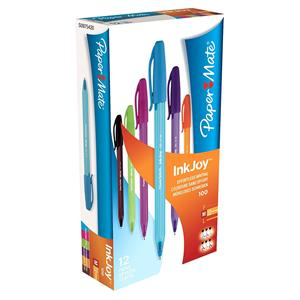 PaperMate InkJoy 100 Ball Pen Medium Tip Assorted [Pack of 12]