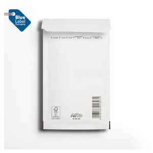Blue Label Bubble Bag P & S WH 120x215mm (12B) [Pack of 200]