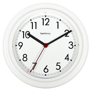 Acctim Stratford Wall Clock 230mm White