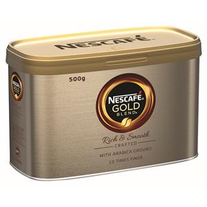 Nescafe Gold Blend Instant Coffee 500G [Pack of 6]
