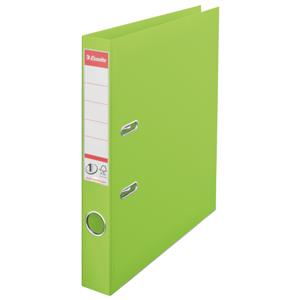 Esselte Number 1 Vivida Lever Arch File Polypropylene A4 50mm Green [Pack of 10]