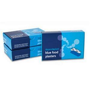 Reliance Dependaplast Blue Plasters Assorted Sizes [Pack of 100]