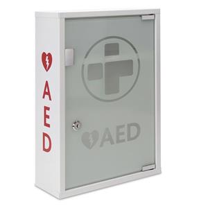 Reliance AED Unalarmed Metal Wall Cabinet Glass Door Lockable