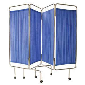 Reliance RelEquip Medical Screen 4-Way Folding including Curtain