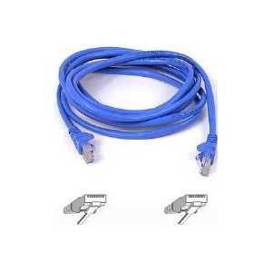 Belkin CAT5E Snagless UTP Blue 1m