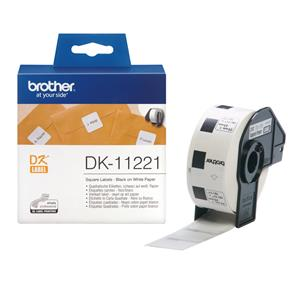 Brother DK11221 Square Paper Label 23mm [1000 Labels]
