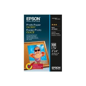 Epson Photo Paper Glossy 10x15 100 Sheets