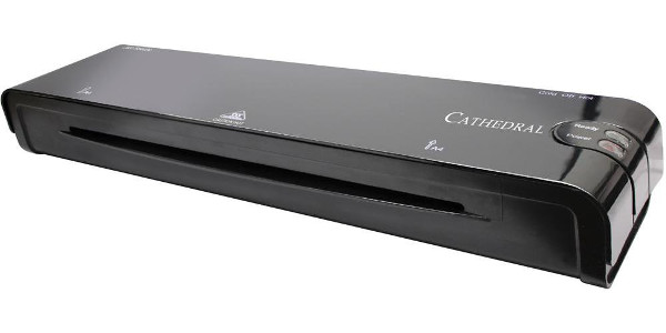Cathedral Value A4 Laminator with Starter Pack of Pouches