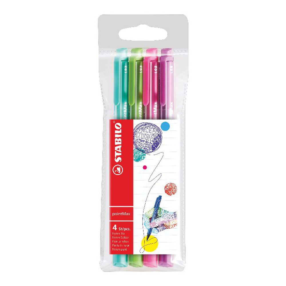 Stabilo Boss Highlighter Pink with Four Free Pens [Pack of 10+4]