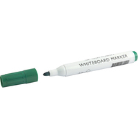 Q-Connect Drywipe Marker Green [Pack of 10]