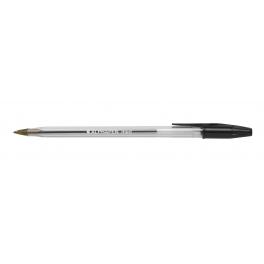 OfficePad Ball Point Pens Fine Black [Pack of 20]