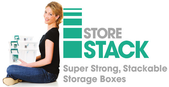 Storestack 5.8 Litre Storage Box