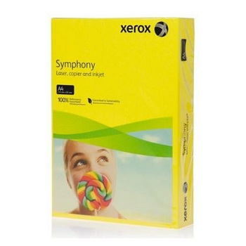 Xerox Symphony Paper A4 80g Dark Yellow [Pack of 500]