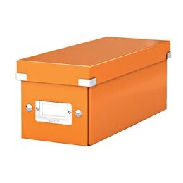 Leitz WOW Click and Store CD Box Orange